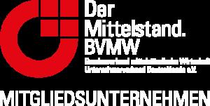 BVMW-Mitgliedszeichen negativ